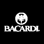 Bacardi Logo White Logo